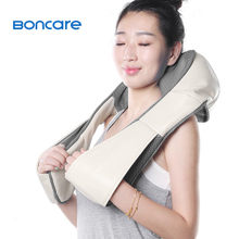 Electric Battery Operated Vibrating Neck Scarf Massage Pillow S2