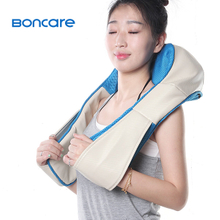 Top Sales Shiatsu Kneading Rollers Tapping Neck Pillow Shoulder Massage ShawlS2