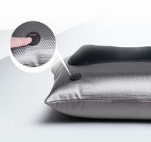 Good quality heated car massage pillow/shiatsu neck massager for home use